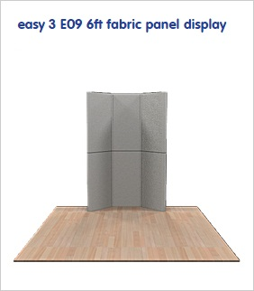 easy-3-E09-6ft-fabric-panel-display