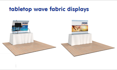 table-top-wave-fabric-displays