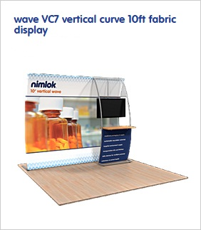 wave-VC7-vertical-curve-10ft-fabric-display